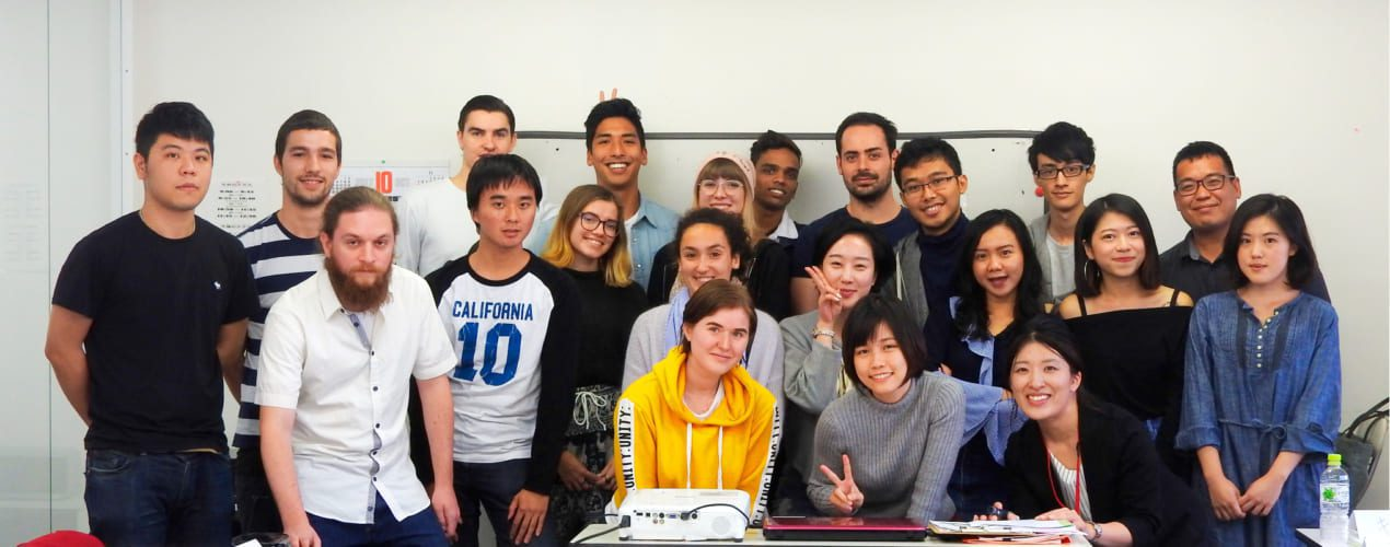International Environment Class photo