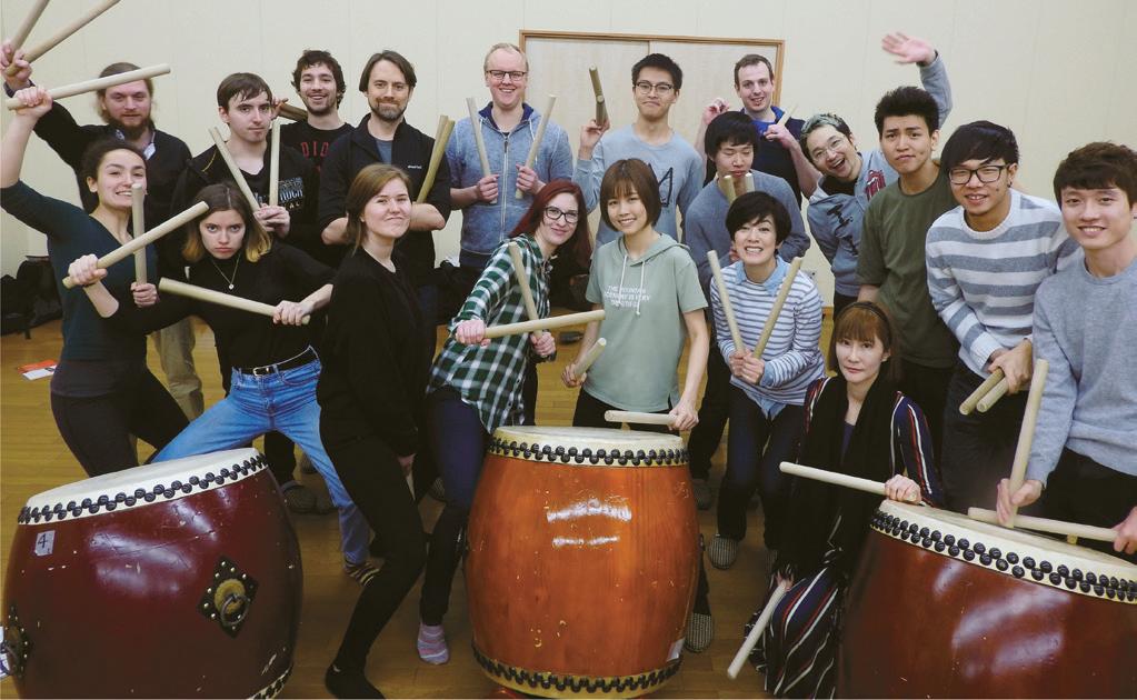Cultural experience - DKP - Japanese Drum