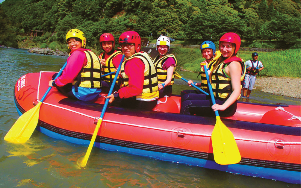 Cultural experience - DKP - Rafting in Hozuriver